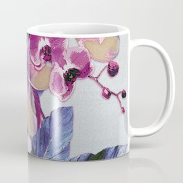 Tropical Vintage Plumerias Coffee Mug