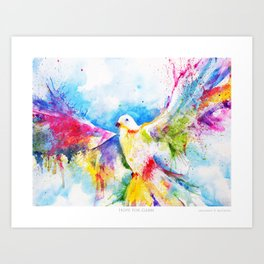 Hope For Gabbi Art Print