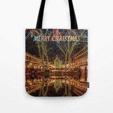 Merry Christmas, Boston Tote Bag
