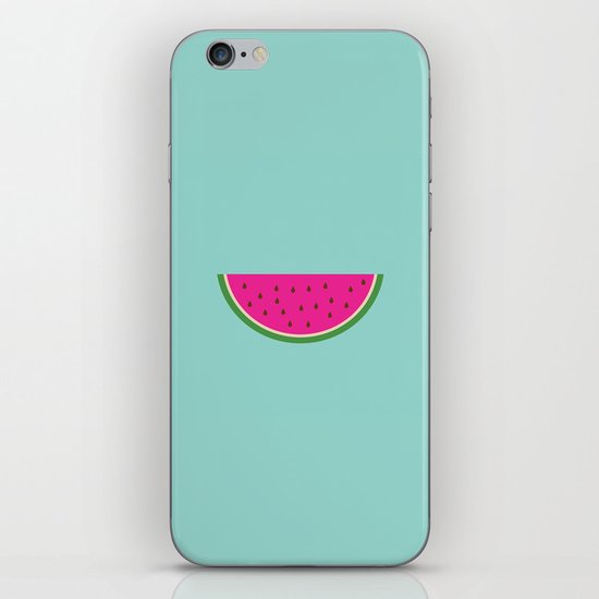 Watermelon print iPhone & iPod Skin