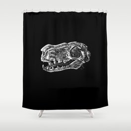 The Fig Eater Shower Curtain