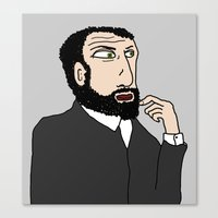 gustav klimt Canvas Prints featuring Gustav Klimt by tizia