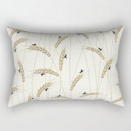 Crickets in a field Rectangular Pillow