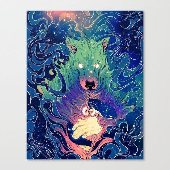 I Am Dog Canvas Print