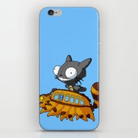 invader zim iPhone & iPod Skins featuring My Invader Neighbor by HelloTwinsies