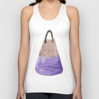 tote bag Tank Tops featuring Tote 2 by ©valourine