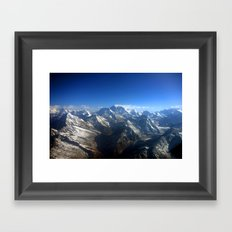 On to the Himalayas Framed Art Print