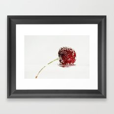 Cheery Cherry Framed Art Print