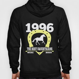 Equestrian Gift 1996 Birthday Present Horse Riding Hoody