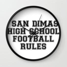 San Dimas Wall Clock