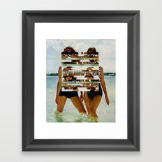 Bee Keen E. Gurls Framed Art Print