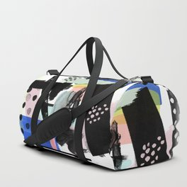Abstract Modern No. 29 Duffle Bag
