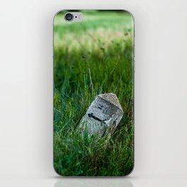 wheat and stone iPhone Skin
