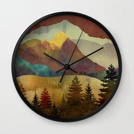 Autumn Sky Wall Clock