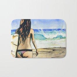Beach Bum Bath Mat