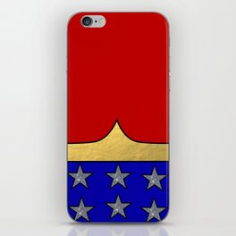 Wonder Hero iPhone Skin