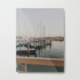 Dock View Metal Print