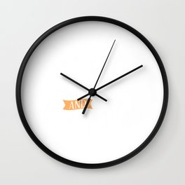 Coffee Chaos And Snuggles Wall Clock