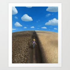 Sow and Reap Art Print