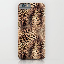 Vintage Wildcat Print iPhone Case