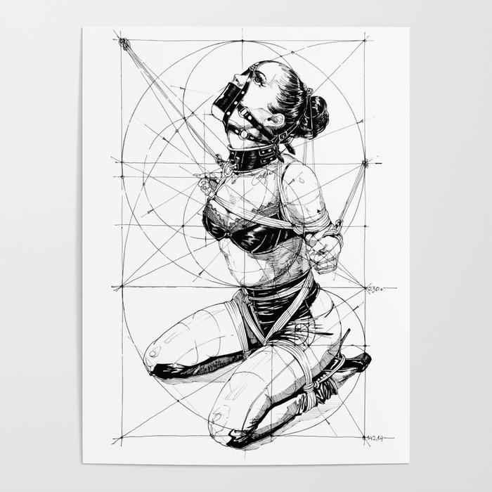 Restrained In Geometry. ©Yury Fadeev Poster