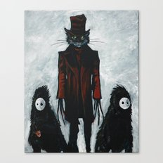 the cat in the hat Canvas Print