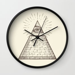 iLLuminati Wall Clock