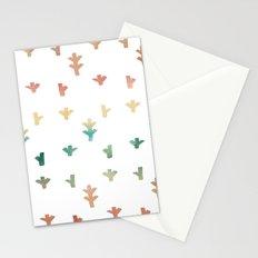 Colorful Boho tree pattern Stationery Cards