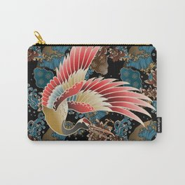 cranes and waves Carry-All Pouch