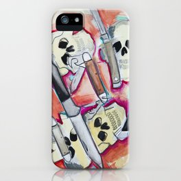 Skulls and Switchblades iPhone Case