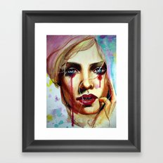 Scarlet (VIDEO IN DESCRIPTION!) Framed Art Print