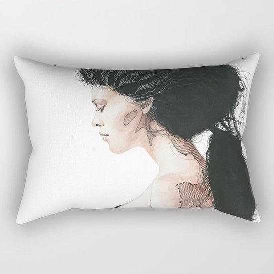 Torn to shreds Rectangular Pillow