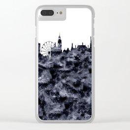 Sheffield Skyline Great Britain Clear iPhone Case