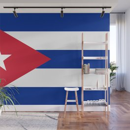 National flag of Cuba - Authentic version Wall Mural