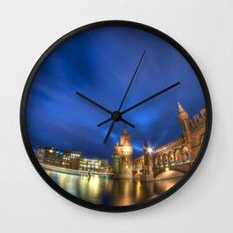 Oberbaumbrücke  Berlin Wall Clock