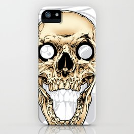 Skull 002 iPhone Case
