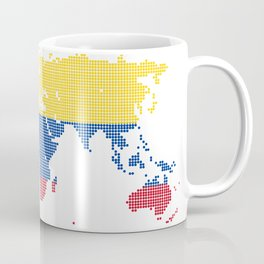 Colombia flag Coffee Mug