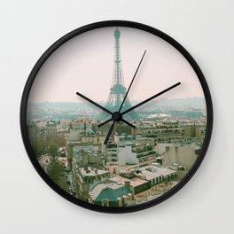 La Tour Eiffel Wall Clock