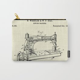 Sewing Machine-1885 Carry-All Pouch