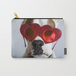 Boxer with love eyes 02 Carry-All Pouch