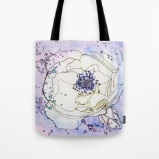 Roses are white, violets are blue... Tote Bag