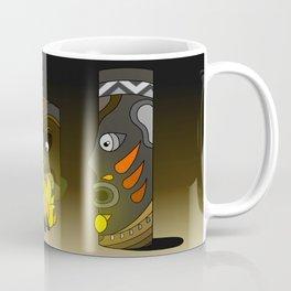 Tiki in the Dark Coffee Mug