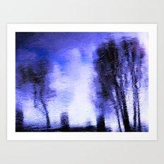 Winter Blue(s) 3>3 Art Print