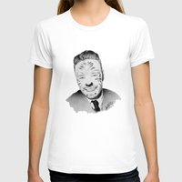 liam payne T-shirts featuring Liam Payne with painted face by Drawpassionn