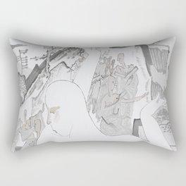 Among the Jungle Rectangular Pillow