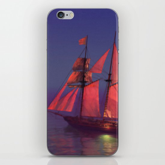 Where no breakers roar... iPhone & iPod Skin