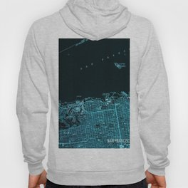 18-San Francisco North map, California 1947 Hoody