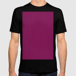 French plum T-shirt