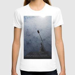 Avenue de la Republique T-shirt
