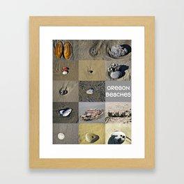 Coastal Treasures Framed Art Print